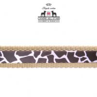 DOG COLLAR - CLASSIC ANIMAL PRINT GIRAFFE
